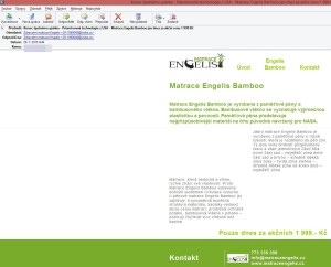 Matrace Engelis