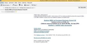 Studium MBA