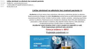 lecba zavislosti na alkoholu